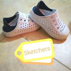 Kids Sketchers Crock Type Shoes